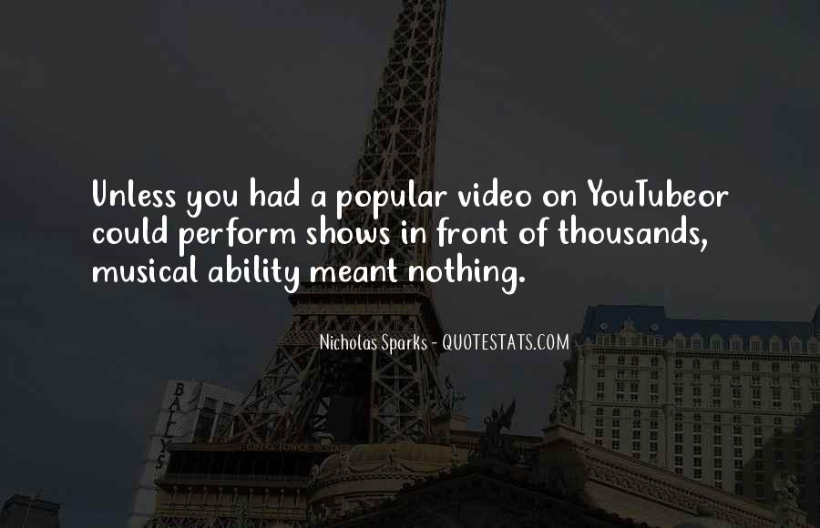 Nicholas Sparks Quotes #1210026