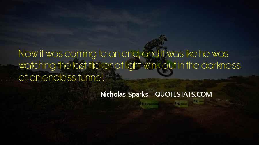 Nicholas Sparks Quotes #1299039