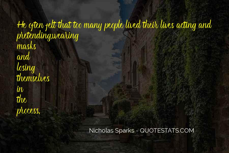 Nicholas Sparks Quotes #1345531