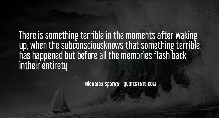 Nicholas Sparks Quotes #1365956