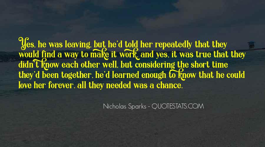 Nicholas Sparks Quotes #1390027