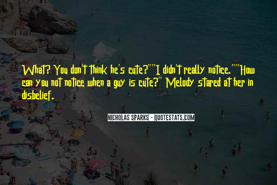 Nicholas Sparks Quotes #1472505