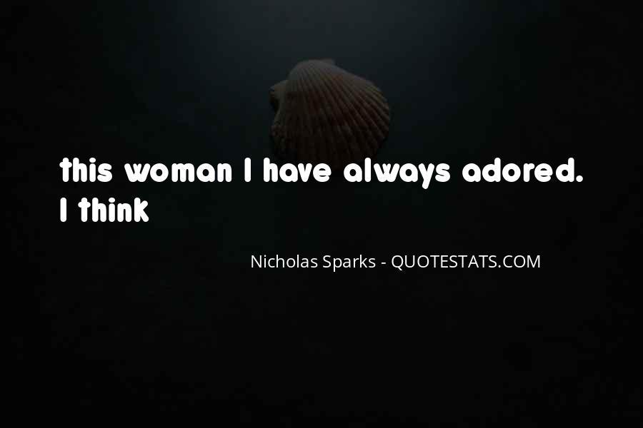 Nicholas Sparks Quotes #1541136