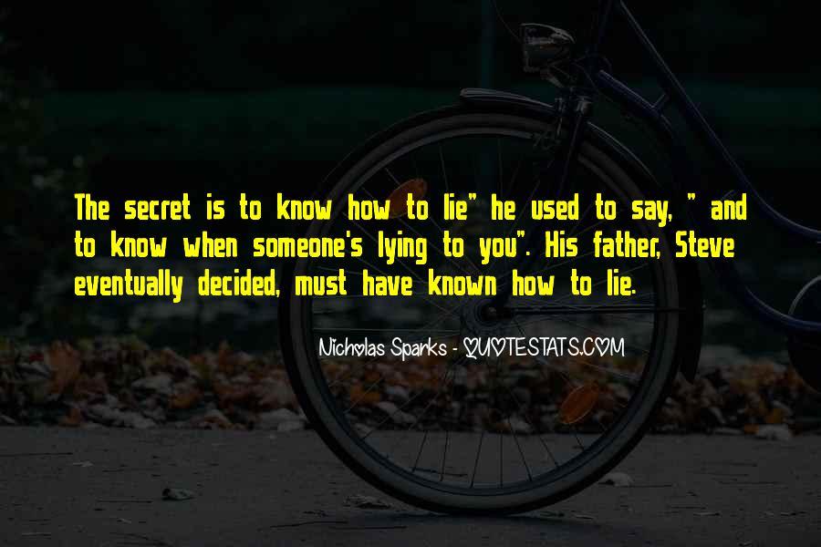 Nicholas Sparks Quotes #1635313
