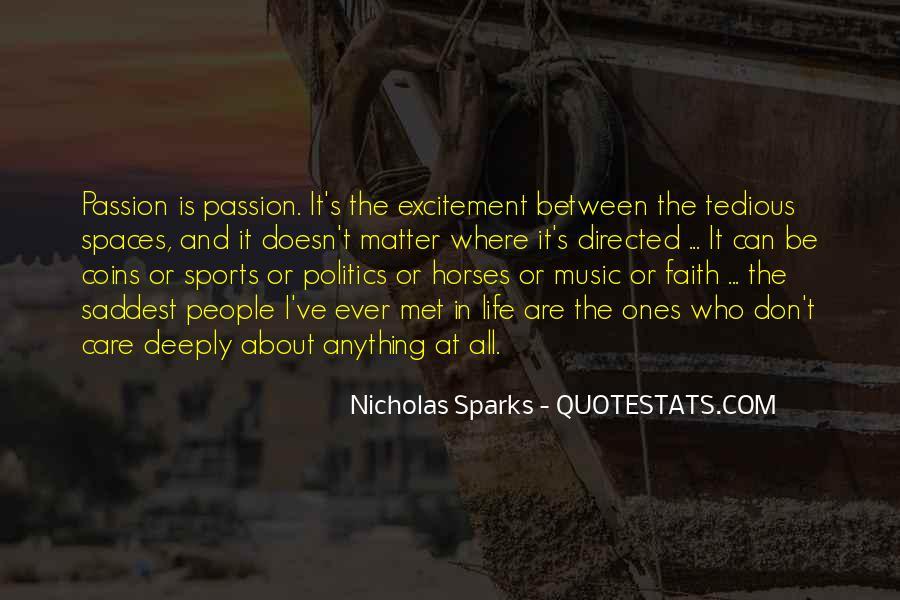Nicholas Sparks Quotes #1659365