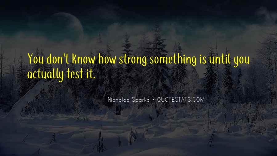 Nicholas Sparks Quotes #1740725