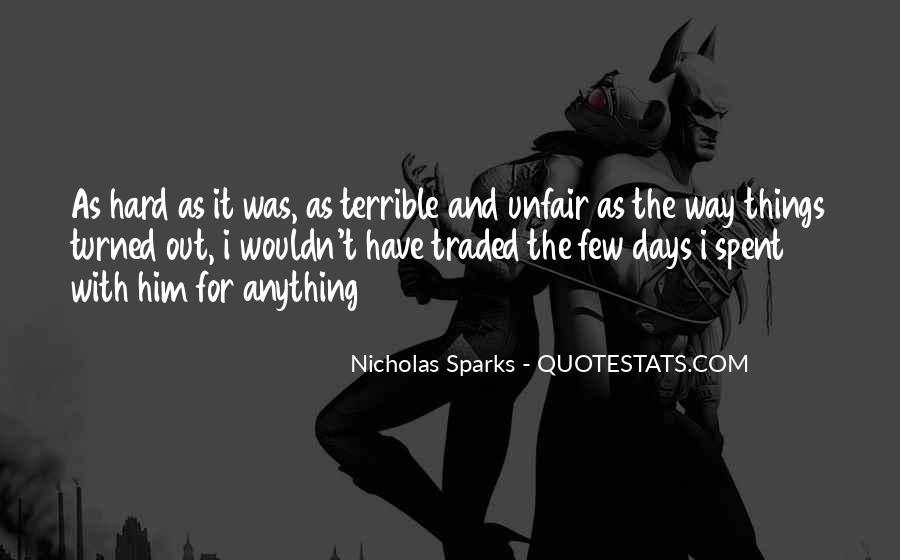 Nicholas Sparks Quotes #1754594