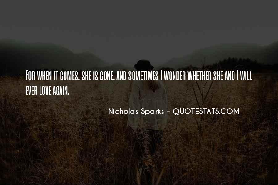 Nicholas Sparks Quotes #201982