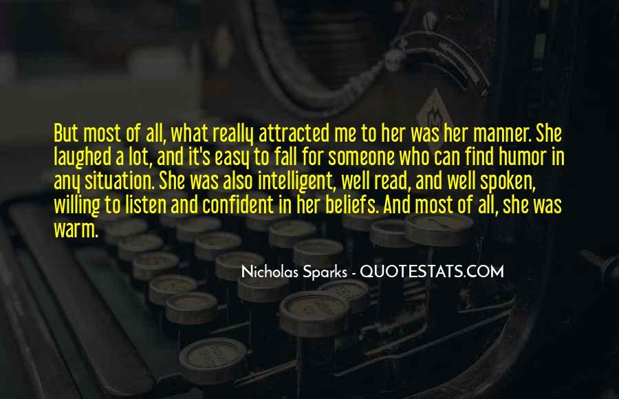 Nicholas Sparks Quotes #250241