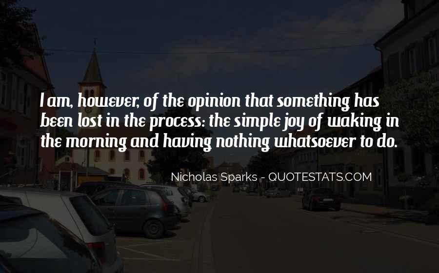 Nicholas Sparks Quotes #384454