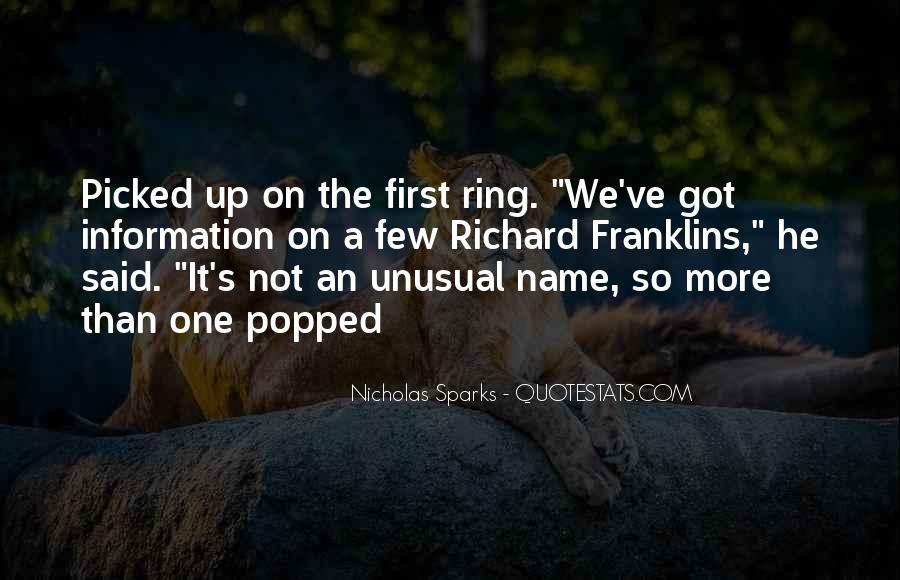 Nicholas Sparks Quotes #805538