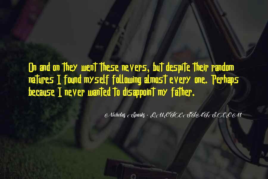 Nicholas Sparks Quotes #811869