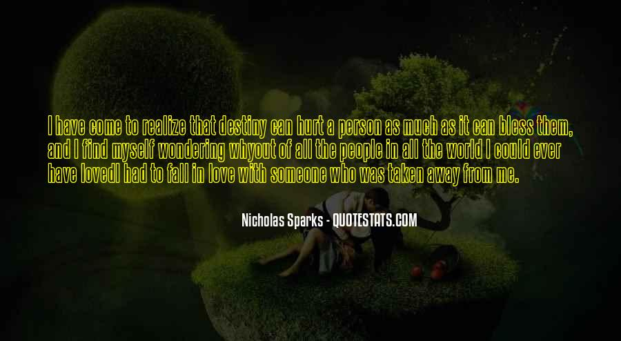 Nicholas Sparks Quotes #813523