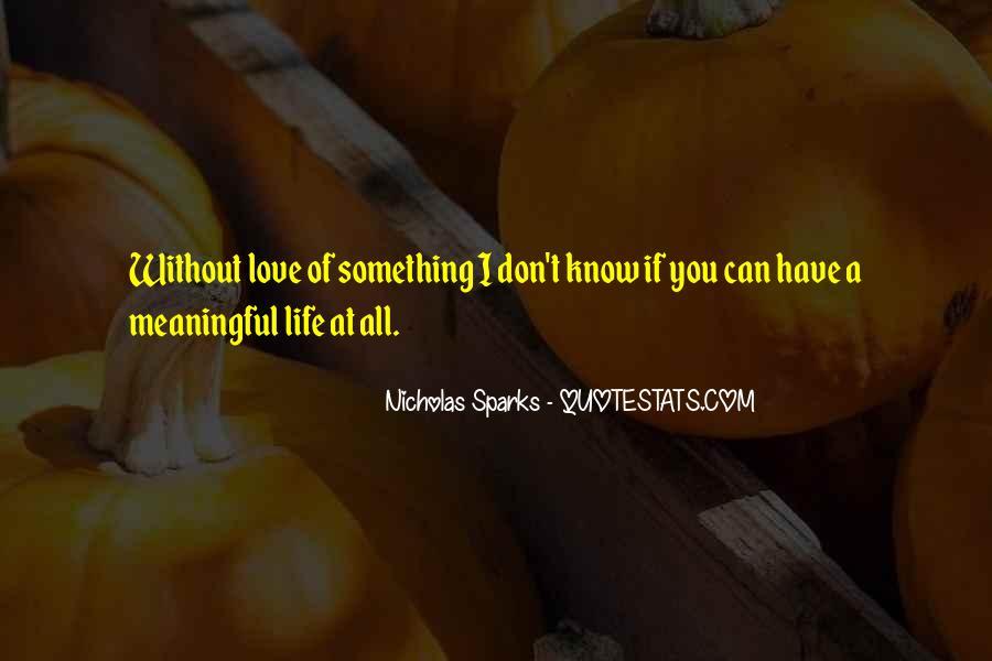 Nicholas Sparks Quotes #865033