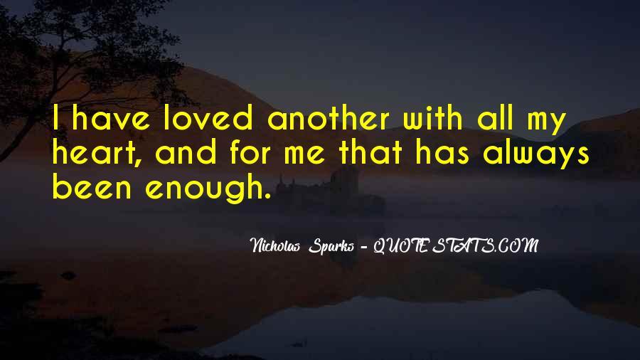 Nicholas Sparks Quotes #973589
