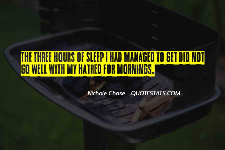 Nichole Chase Quotes #879401