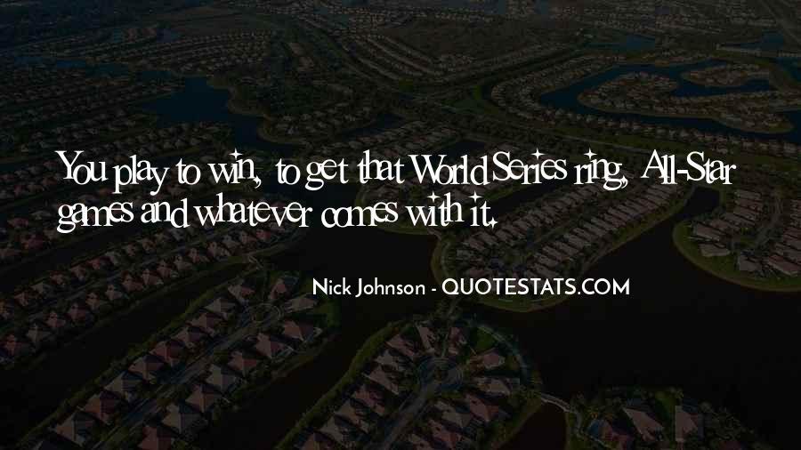 Nick Johnson Quotes #668122