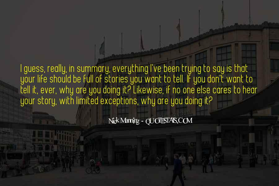 Nick Manning Quotes #1064105