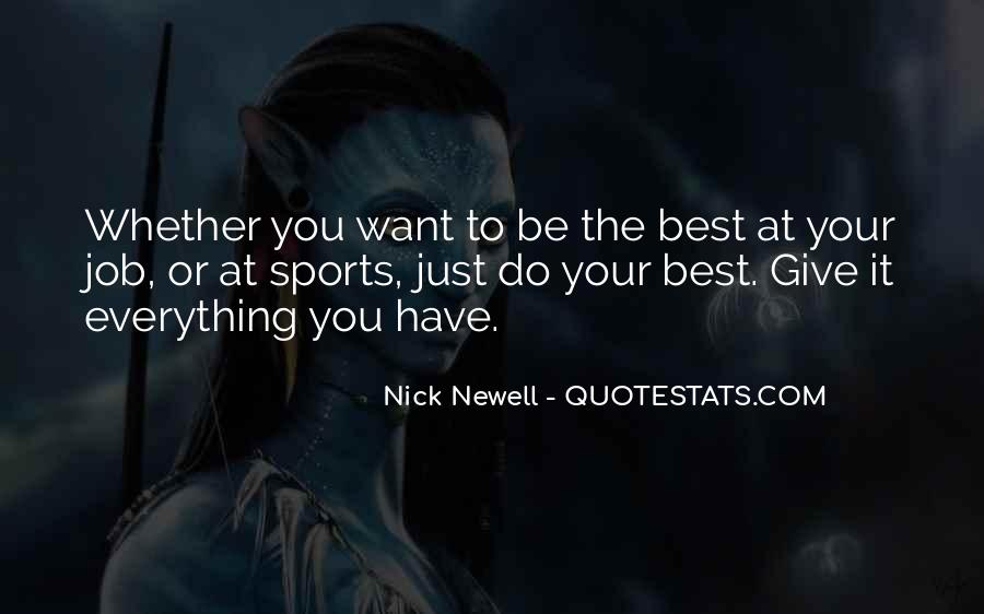 Nick Newell Quotes #145585
