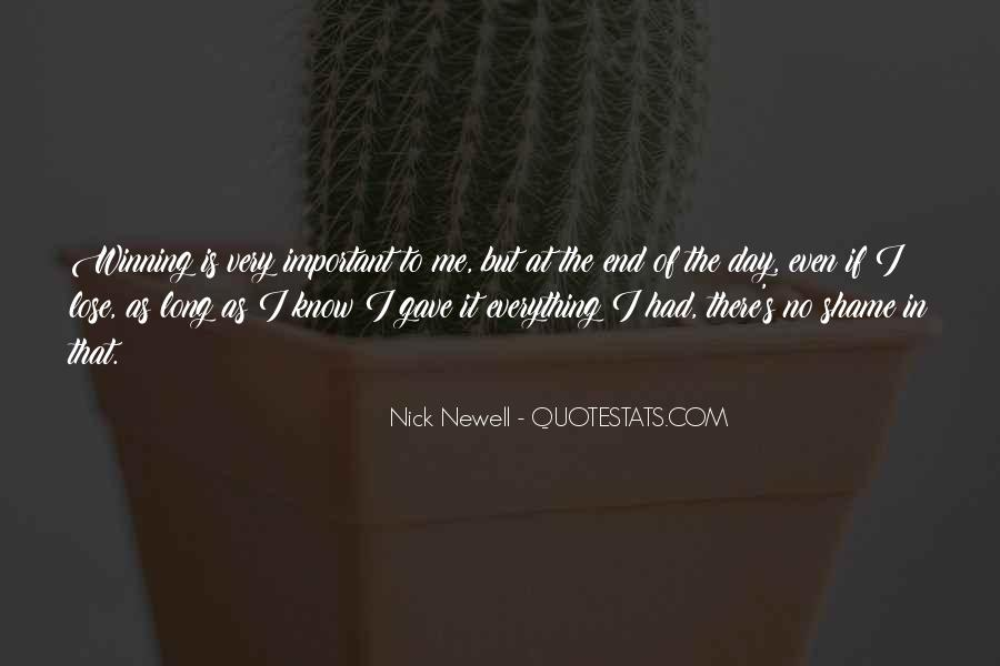 Nick Newell Quotes #885955