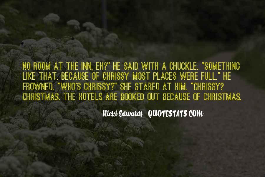 Nicki Edwards Quotes #1067825