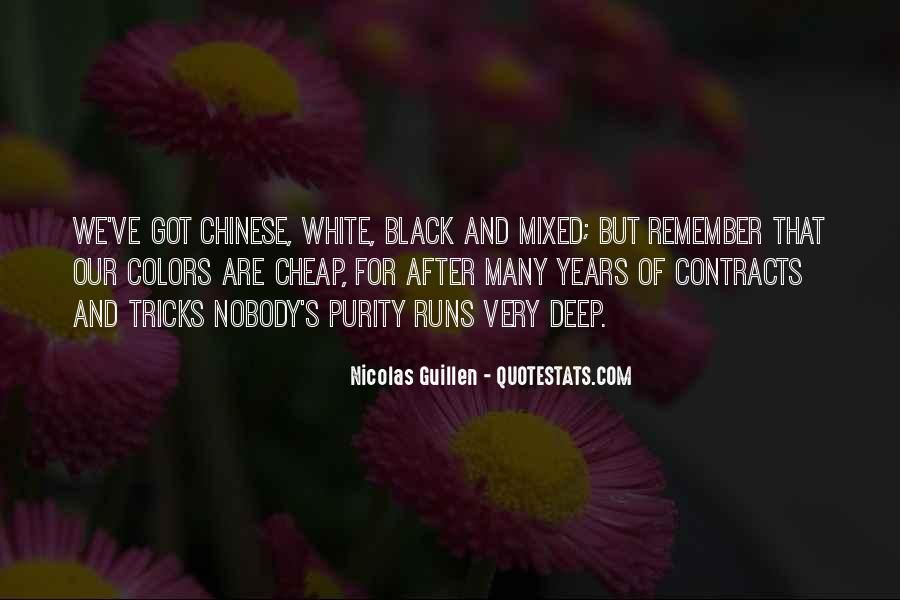 Nicolas Guillen Quotes #700019