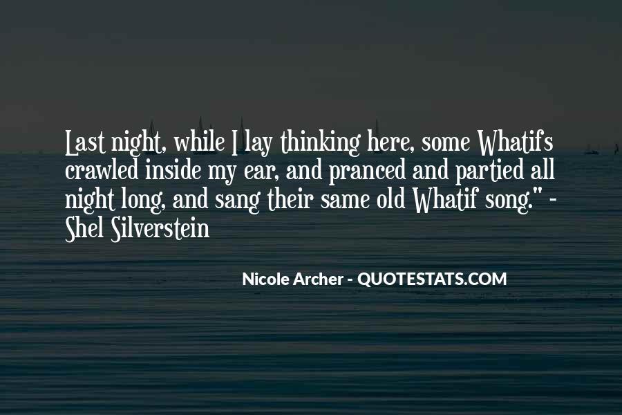 Nicole Archer Quotes #80697