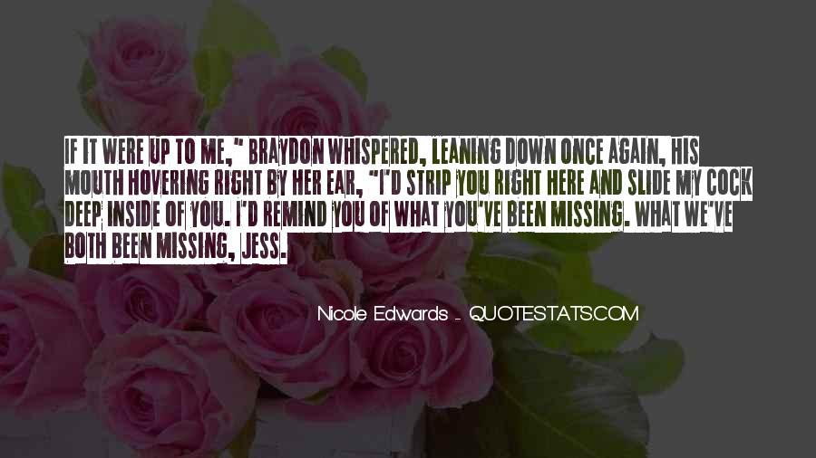 Nicole Edwards Quotes #812296