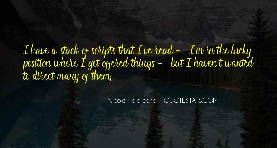 Nicole Holofcener Quotes #1063663