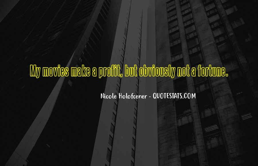 Nicole Holofcener Quotes #1352001