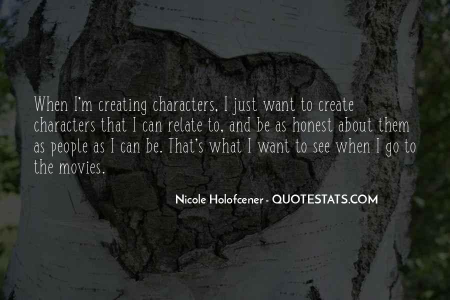 Nicole Holofcener Quotes #214638