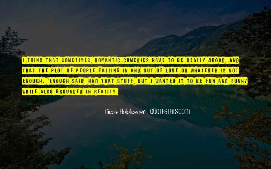 Nicole Holofcener Quotes #34897