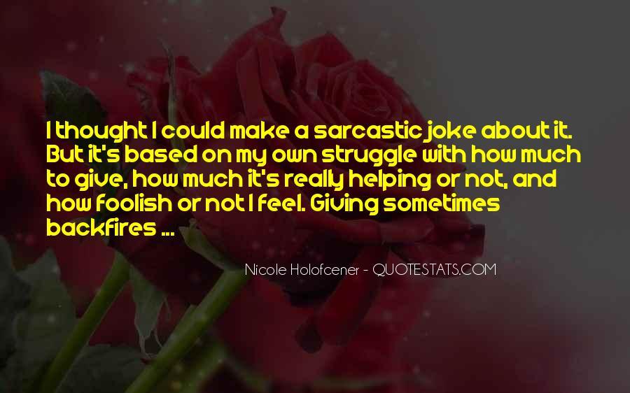 Nicole Holofcener Quotes #5381