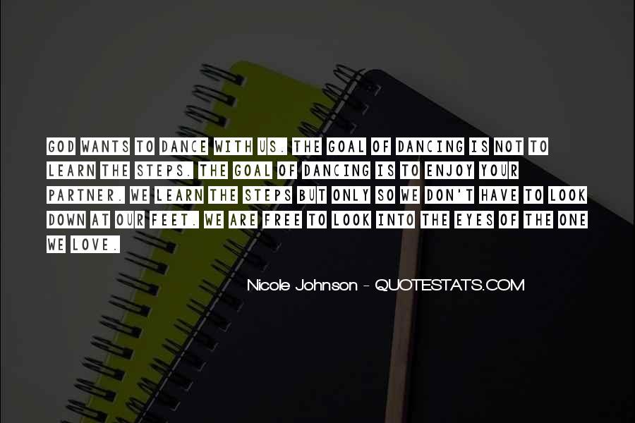 Nicole Johnson Quotes #1242269