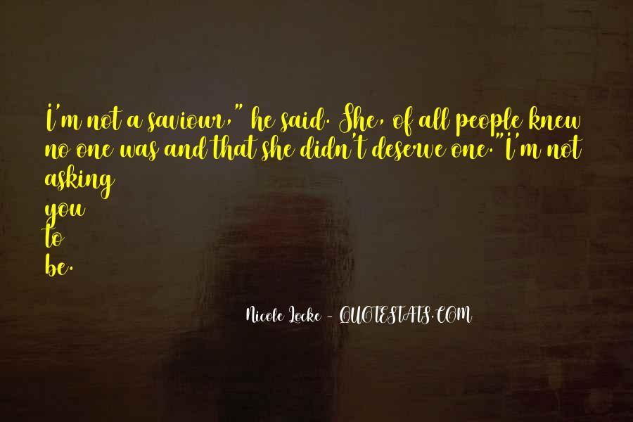 Nicole Locke Quotes #1767345