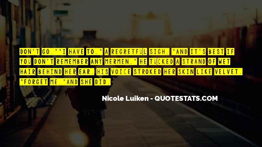 Nicole Luiken Quotes #178724