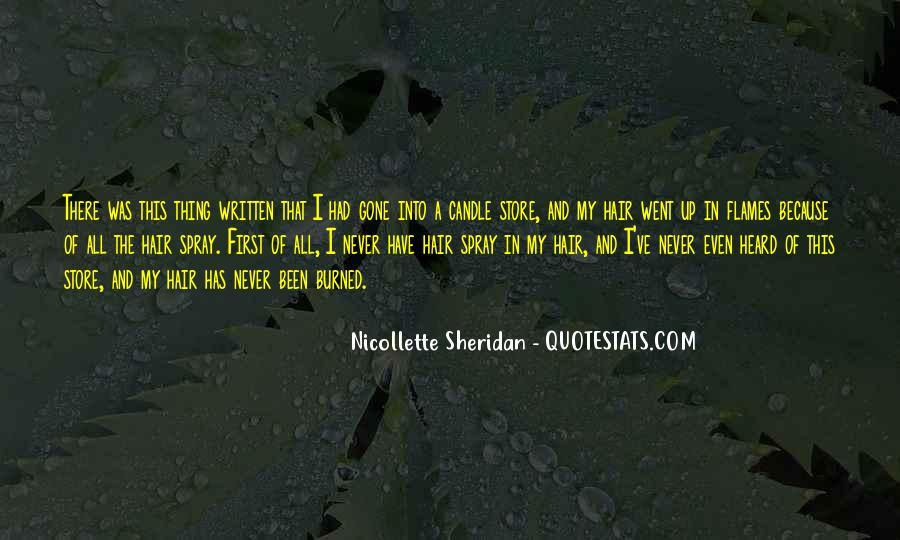 Nicollette Sheridan Quotes #1464553