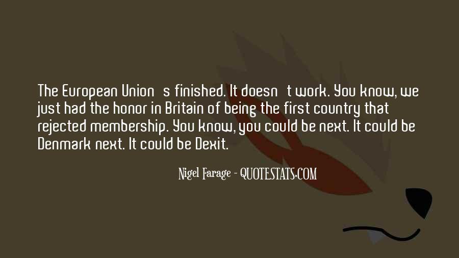 Nigel Farage Quotes #880129