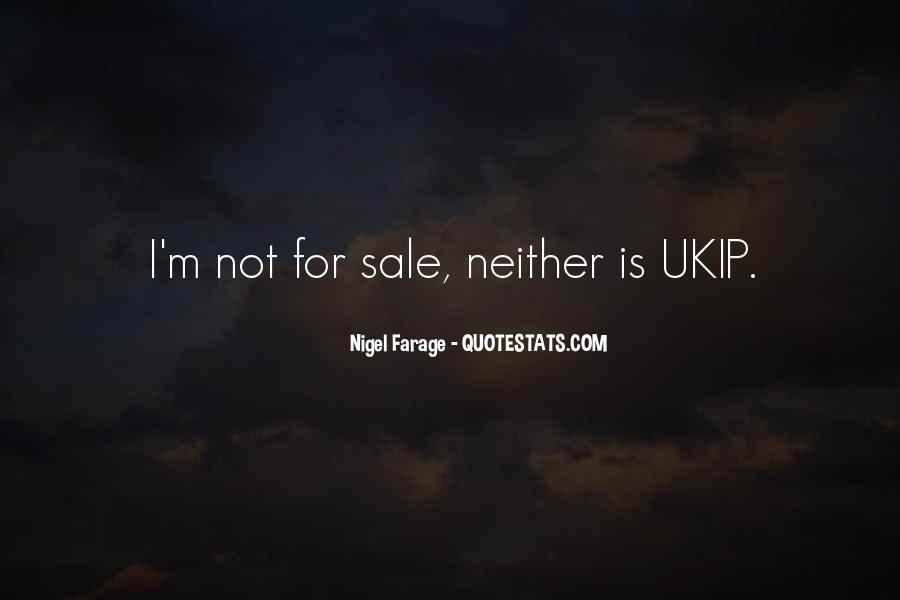 Nigel Farage Quotes #984687