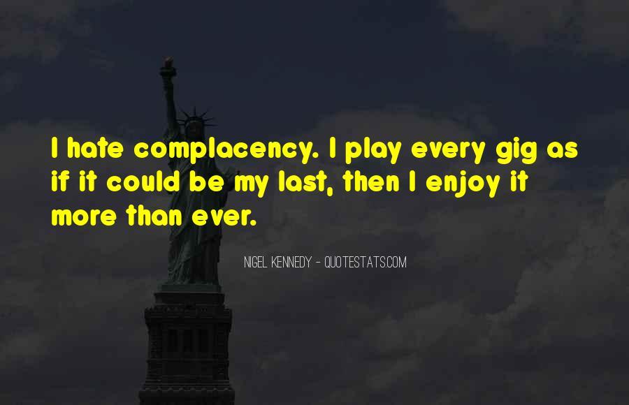 Nigel Kennedy Quotes #108248