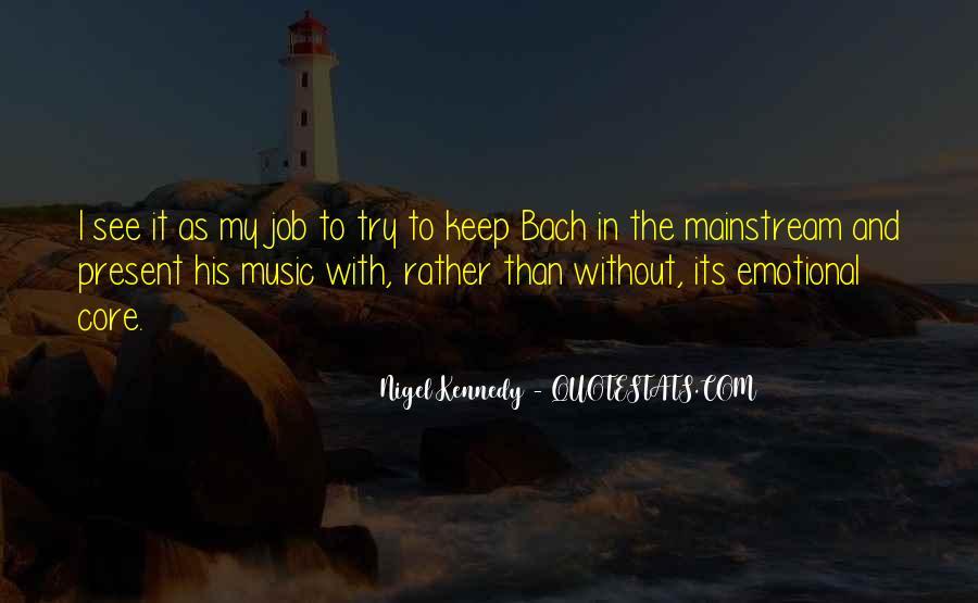 Nigel Kennedy Quotes #1778236
