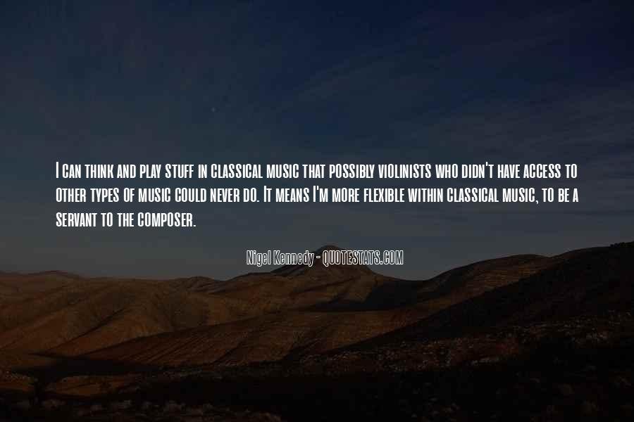 Nigel Kennedy Quotes #269899