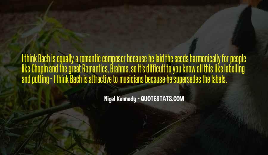 Nigel Kennedy Quotes #818146