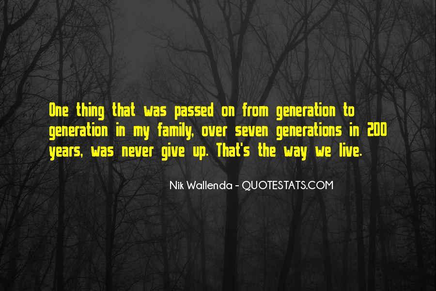 Nik Wallenda Quotes #1188966