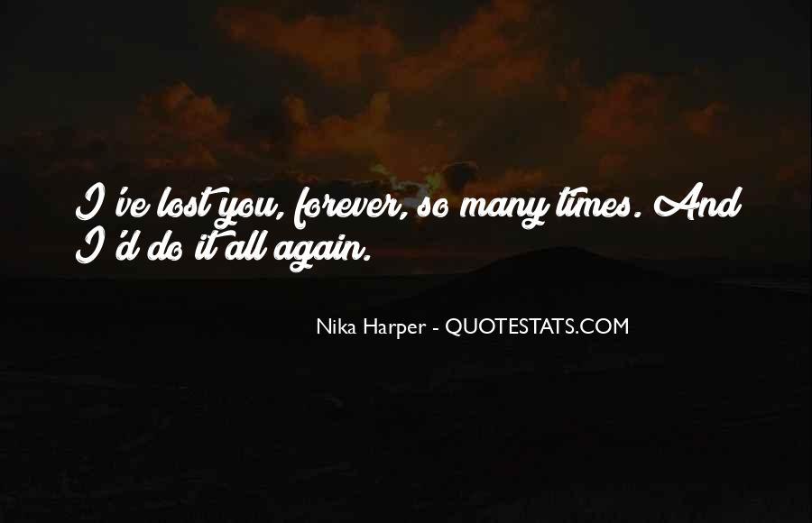 Nika Harper Quotes #1421082