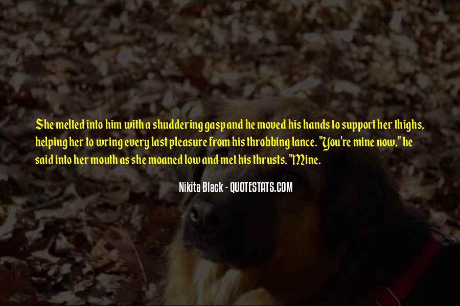 Nikita Black Quotes #838583