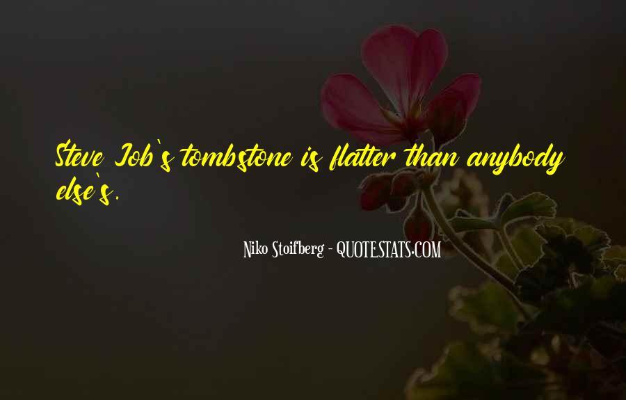 Niko Stoifberg Quotes #1079362