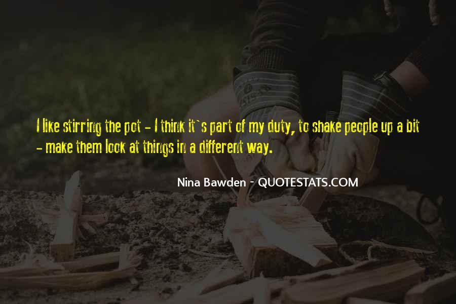 Nina Bawden Quotes #1600460