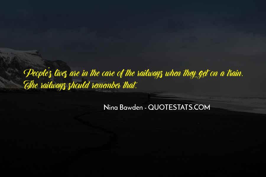 Nina Bawden Quotes #21762