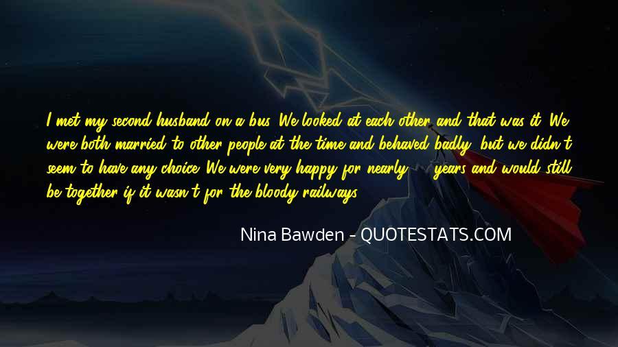 Nina Bawden Quotes #303686